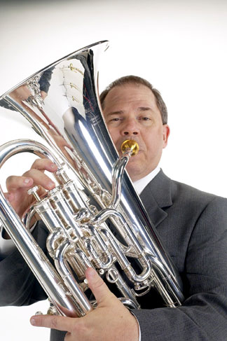 Besson 968S Euphonium played by Norlan Bewley